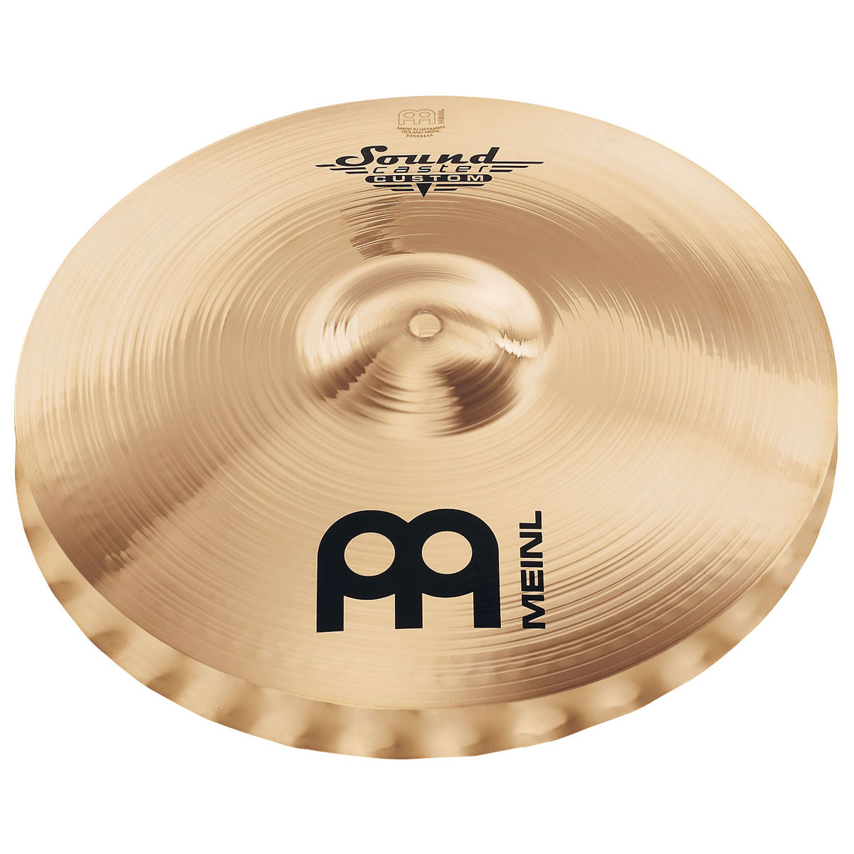 "Meinl 14"" Soundcaster Custom Powerful Soundwave Hi Hat Cymbals"