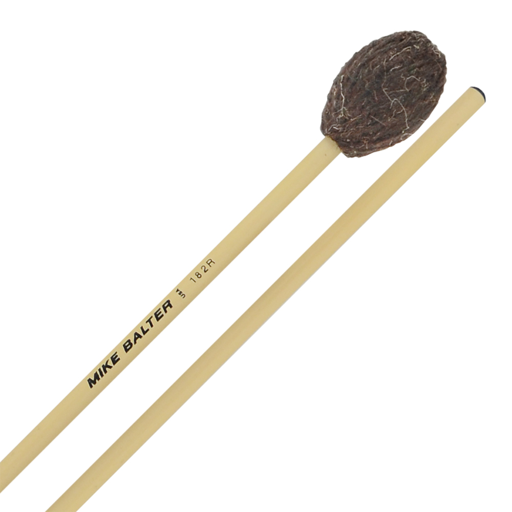 Mike Balter Universal Series Medium Hard to Hard Marimba Mallets with Rattan Handles