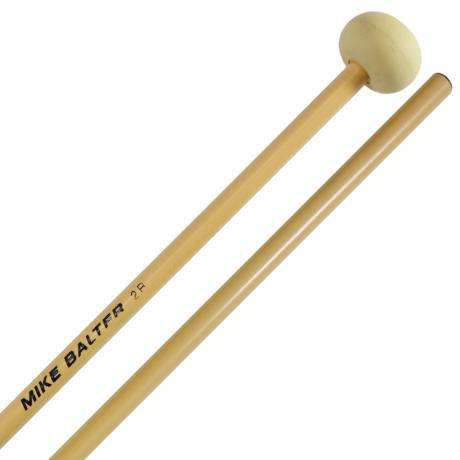 Mike Balter Unwound Soft Rubber Xylophone Mallets with Rattan Handles