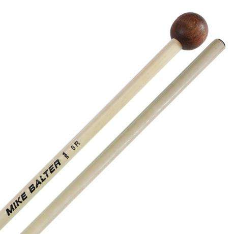 Mike Balter Unwound Small Rosewood Xylophone Mallets with Rattan Handles