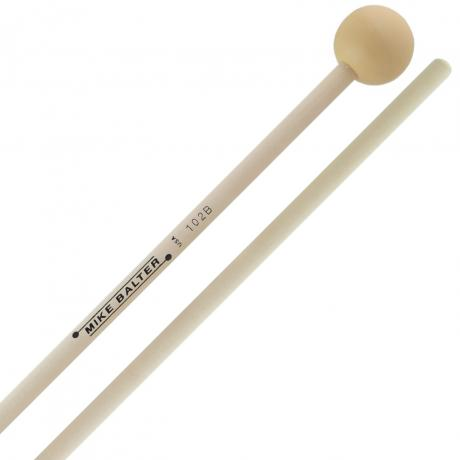 Mike Balter Grandioso Unwound Soft Rubber Xylophone Mallets with Birch Handles