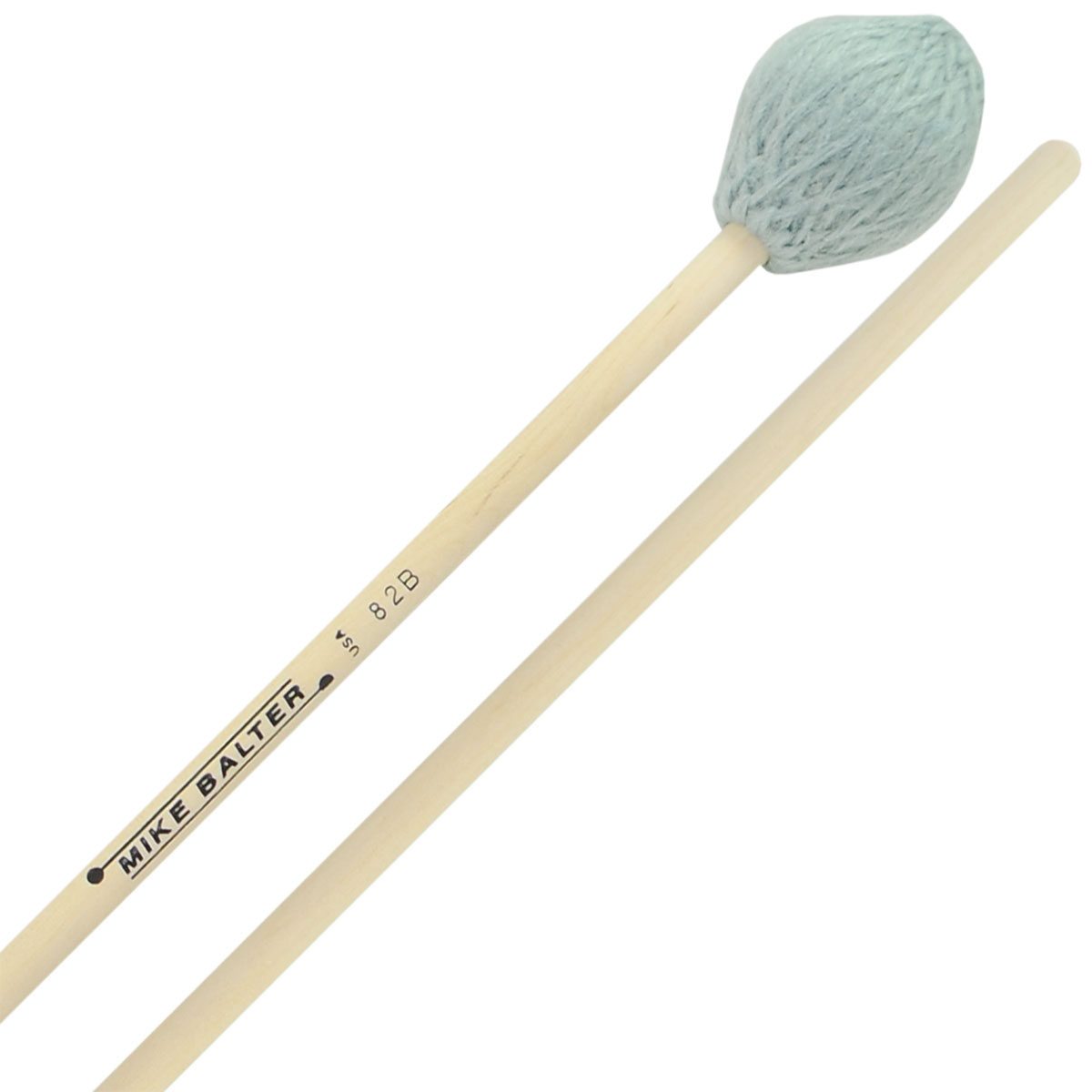 Mike Balter Contemporary Series Medium Hard Marimba Mallets with Birch Handles