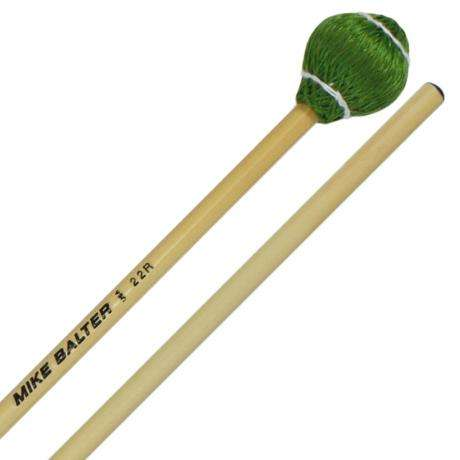 Mike Balter Pro Vibe Medium Hard Vibraphone Mallets with Rattan Handles