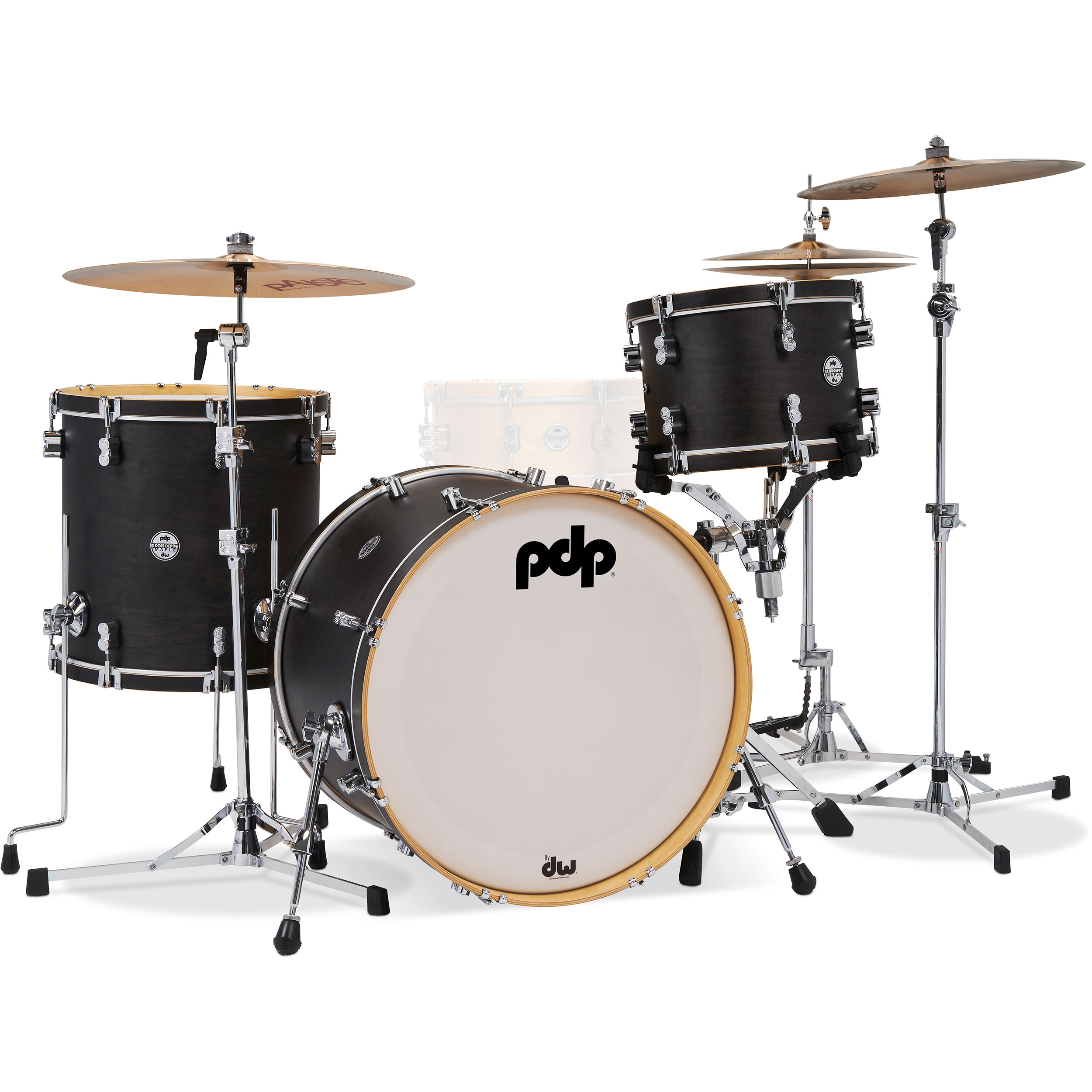 "PDP Concept Maple Classic 3-Piece Drum Set Shell Pack (22"" Bass, 13/16"" Toms)"