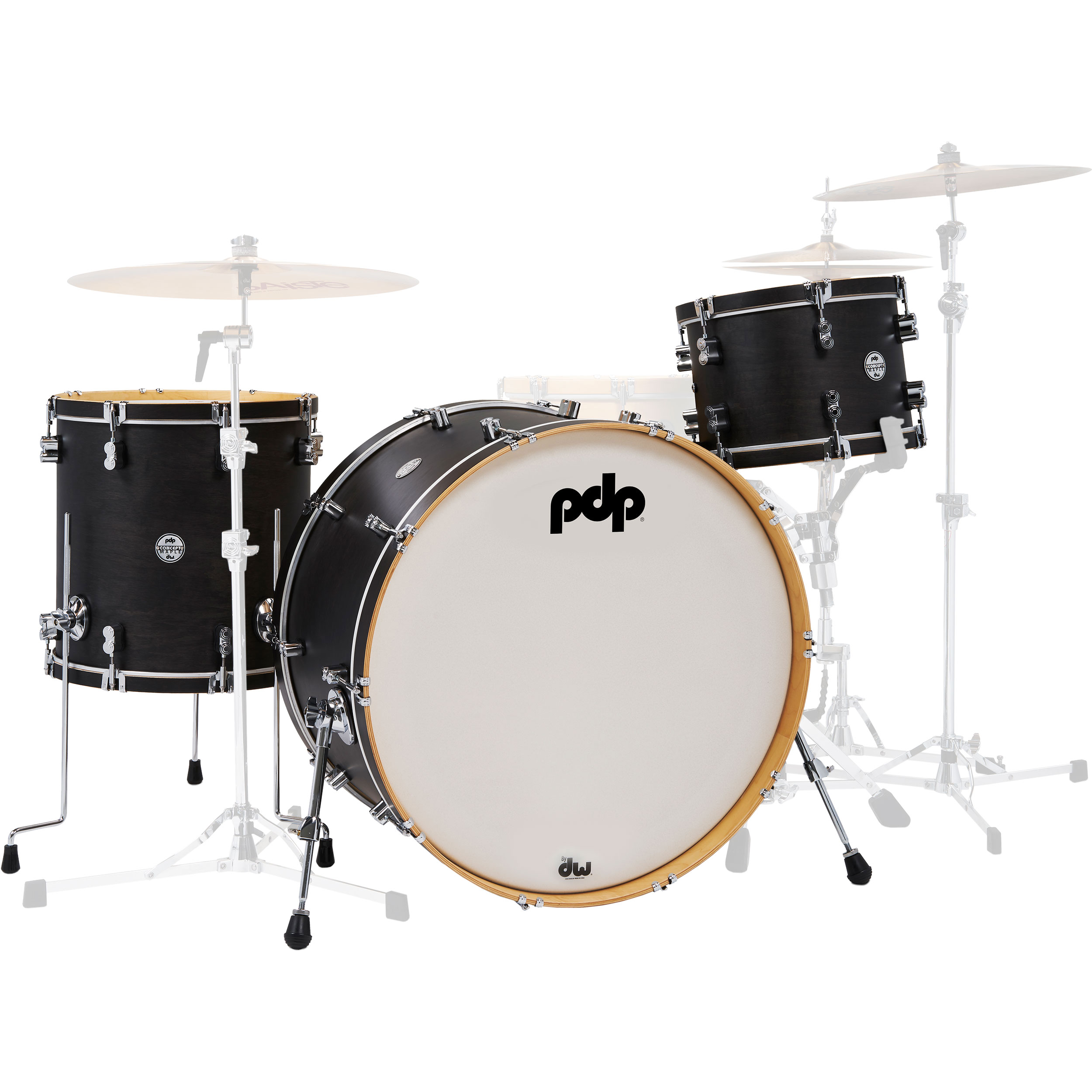 """PDP Concept Maple Classic Drum Set Shell Pack (26"""" Bass, 13/16"""" Toms)"""