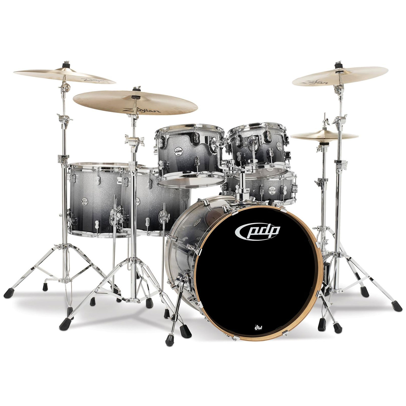"PDP CM6 Concept Maple 6-Piece Drum Set Shell Pack (22"" Bass, 10/12/14/16"" Toms, 14"" Snare)"