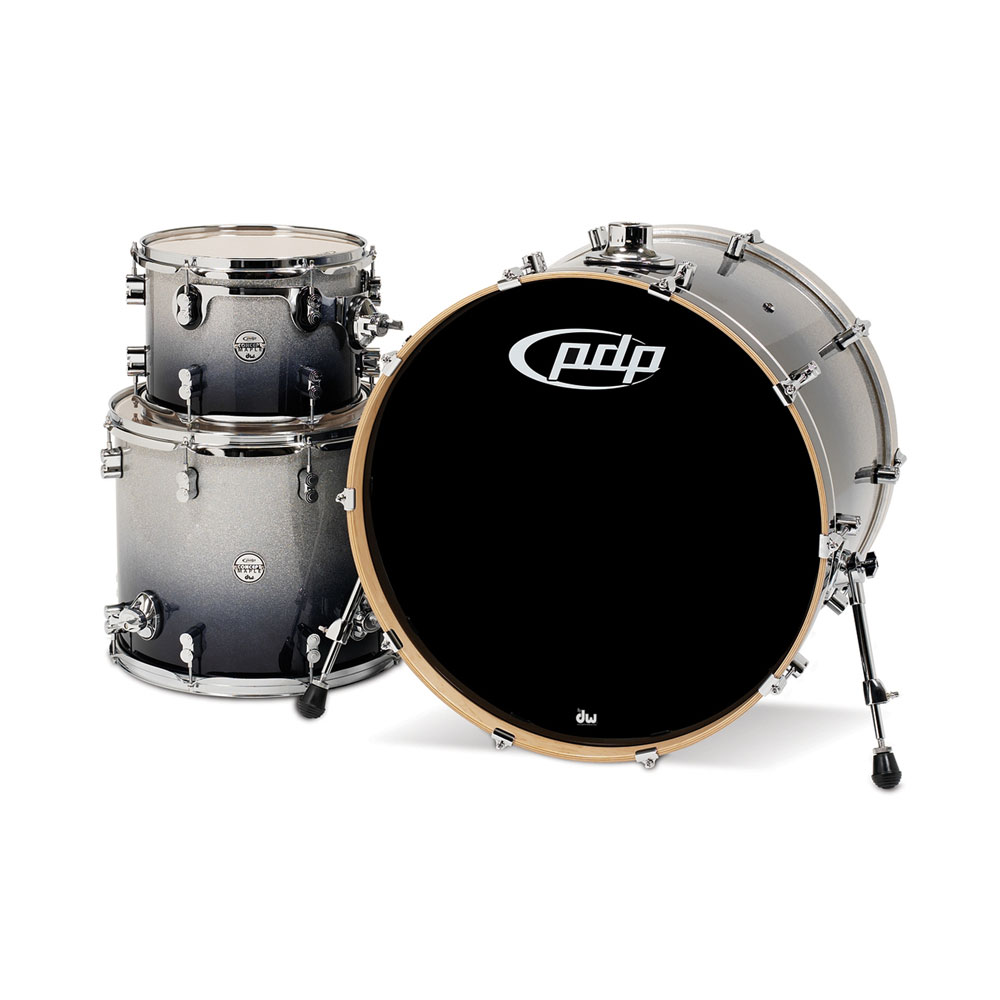 "PDP Concept Maple CM Rock 3-Piece Drum Set Shell Pack (24"" Bass, 13/16"" Toms)"