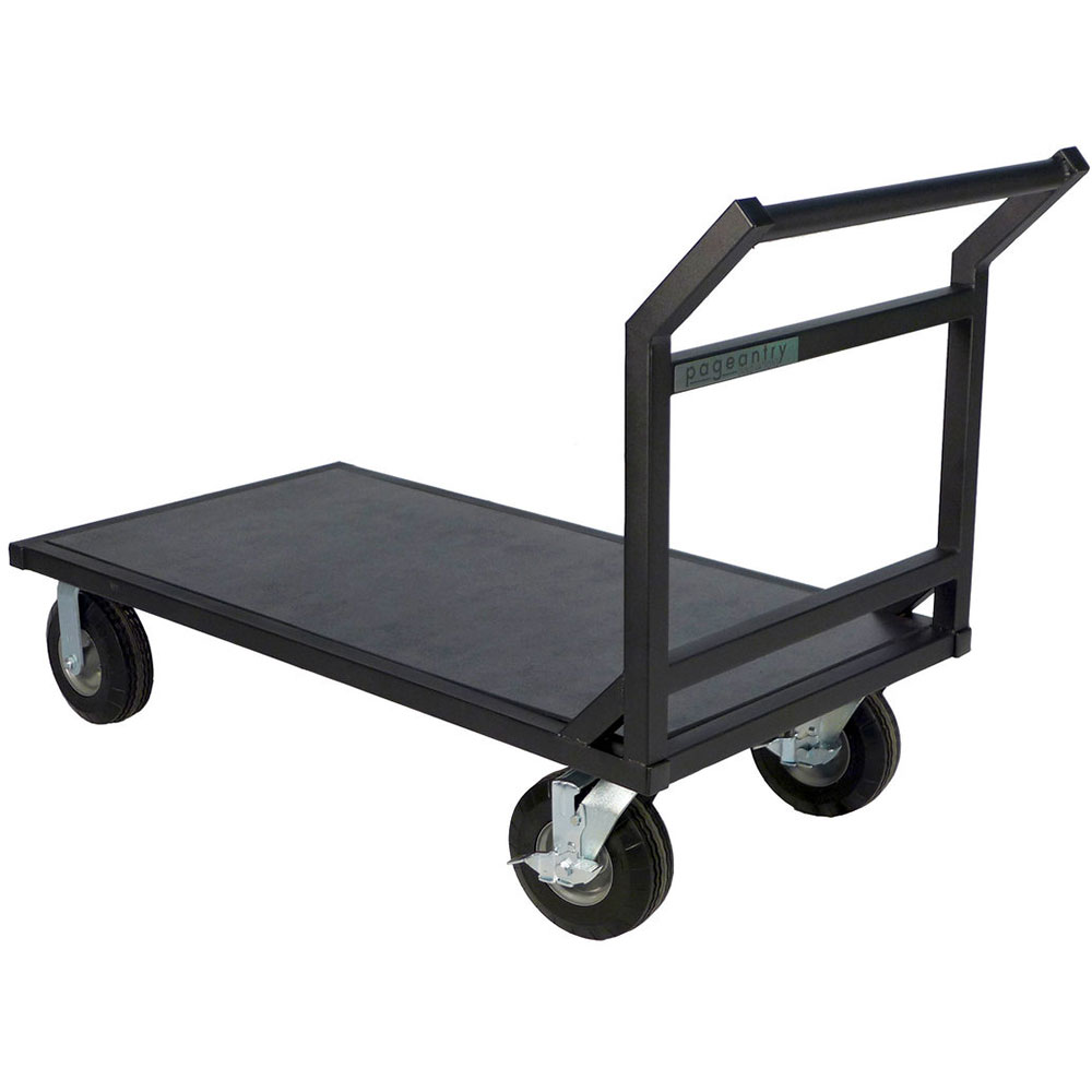"Pageantry Innovations Extended Floor Cart (37.5"" H x 27"" W x 63"" L)"