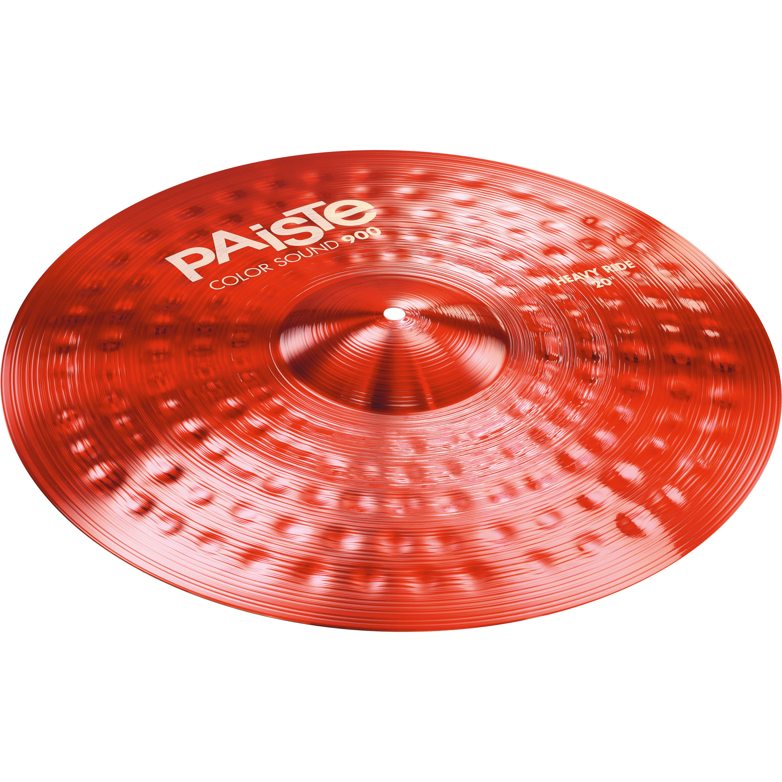 "Paiste 20"" Color Sound 900 Red Heavy Crash Cymbal"