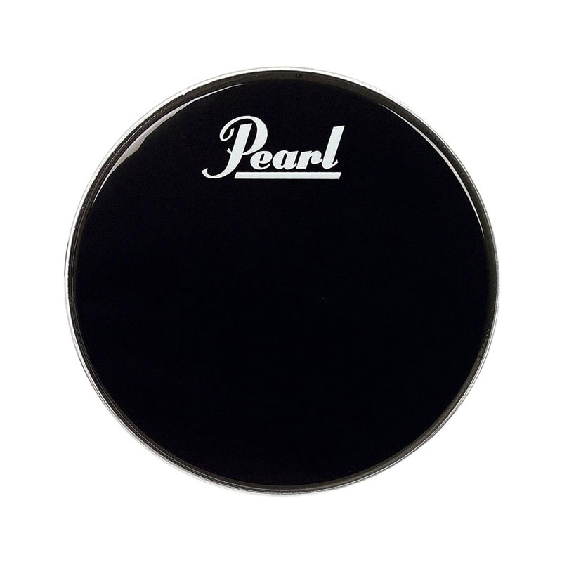"Pearl/Remo 14"" Ebony Ambassador Marching Bass Drum Head"