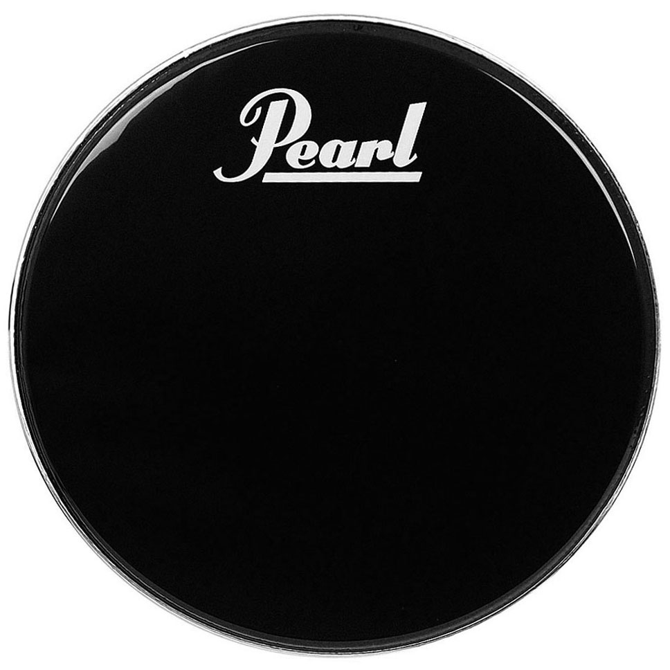 "Pearl/Remo 26"" Ebony Ambassador Marching Bass Head"
