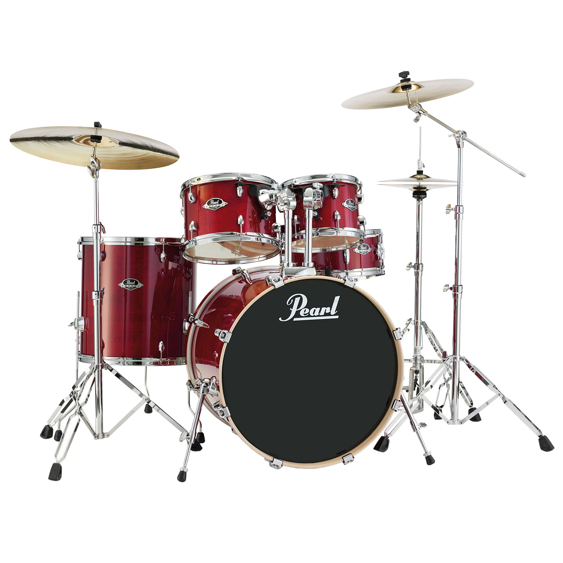 Pearl EXL Export Lacquer 5-Piece Drum Set with Hardware ...