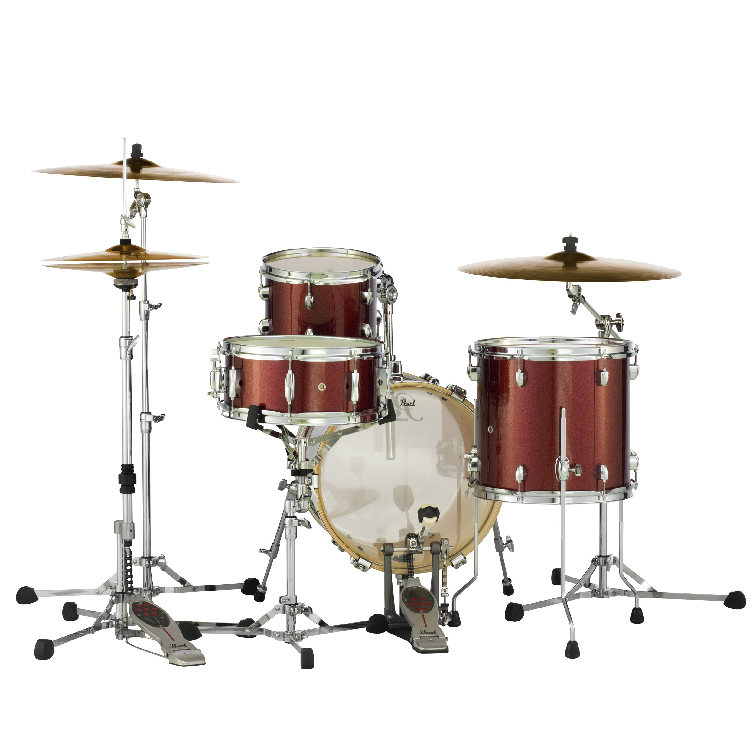 "Pearl Midtown 4-Piece Drum Set Shell Pack (16"" Bass, 10/13 ..."