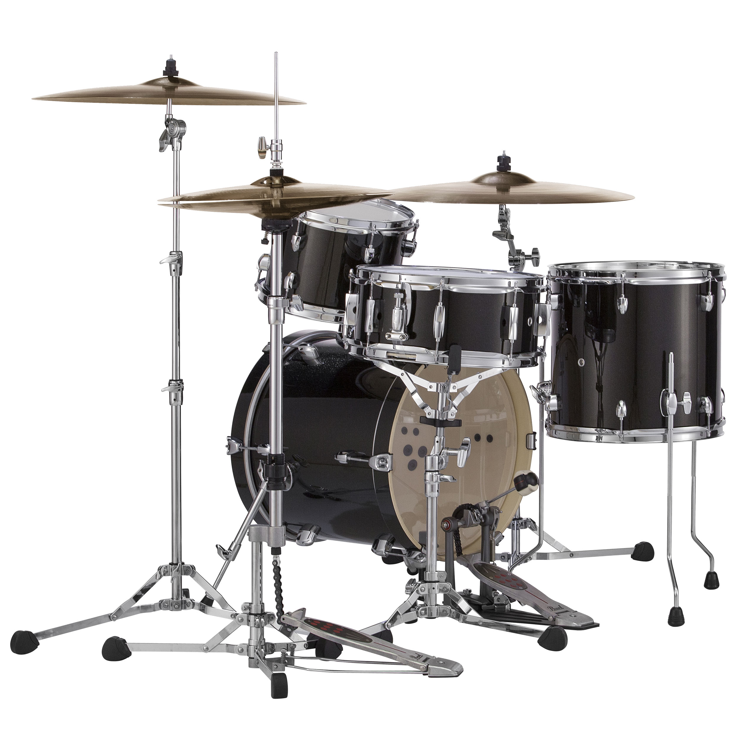 pearl midtown 4 piece drum set shell pack 16 bass 10 13 toms 13 snare with bags mdt764pbg c. Black Bedroom Furniture Sets. Home Design Ideas