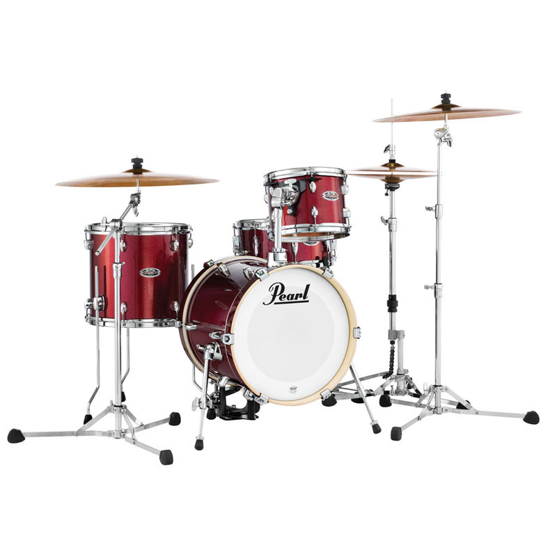 "Pearl Midtown 4-Piece Drum Set Shell Pack (16"" Bass, 10/13"" Toms, 13"" Snare)"