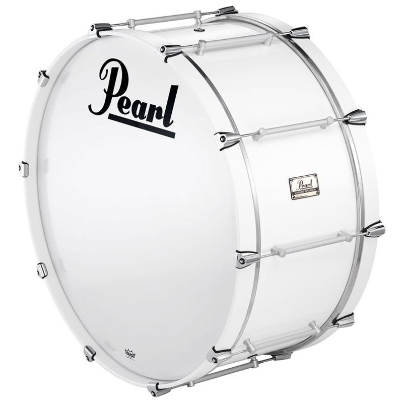 "Pearl 28"" x 12"" Pipe Band Bass Drum with Cast Lugs"