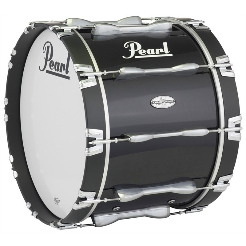 "Pearl 26"" PBDM Championship Maple Marching Bass Drum in Wrap Finish"