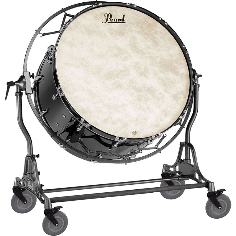 "Pearl 36"" (Diameter) x 18"" (Deep) Concert Series Kapur Concert Bass Drum with STBDF Field Frame"