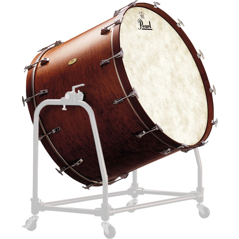 "Pearl 36"" (Diameter) x 18"" (Deep) Symphonic Maple Concert Bass Drum (Drum Only)"