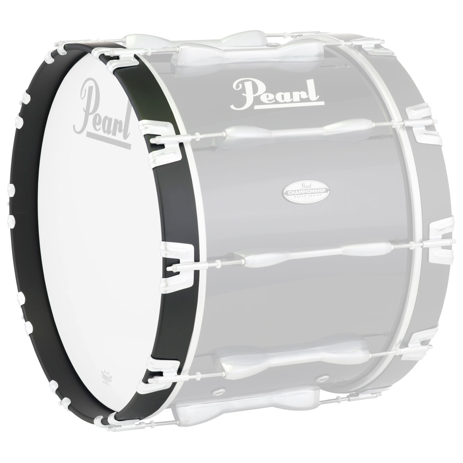 "Pearl 26"" Championship Bass Hoop, Gloss Black, 2"" Wide"