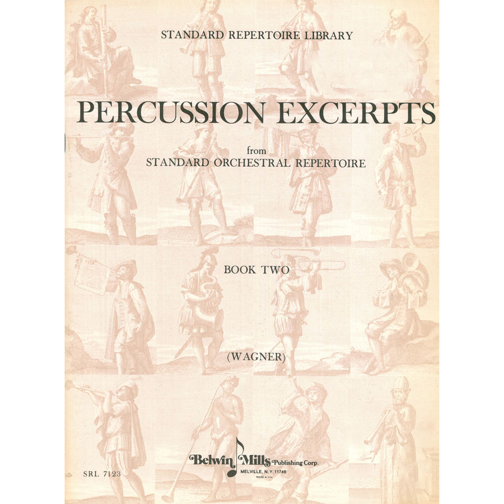 Percussion Excerpts: Wagner 2 by Belwin