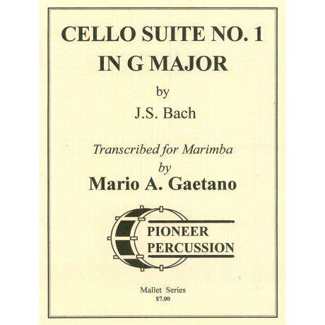 Cello Suite No. 1 in G Major by J.S. Bach arr. Mario Gaetano