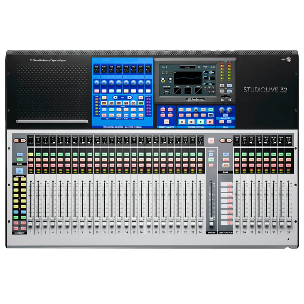 PreSonus 32-Channel Digital Mixer with Touch-Sensitive Moving Faders