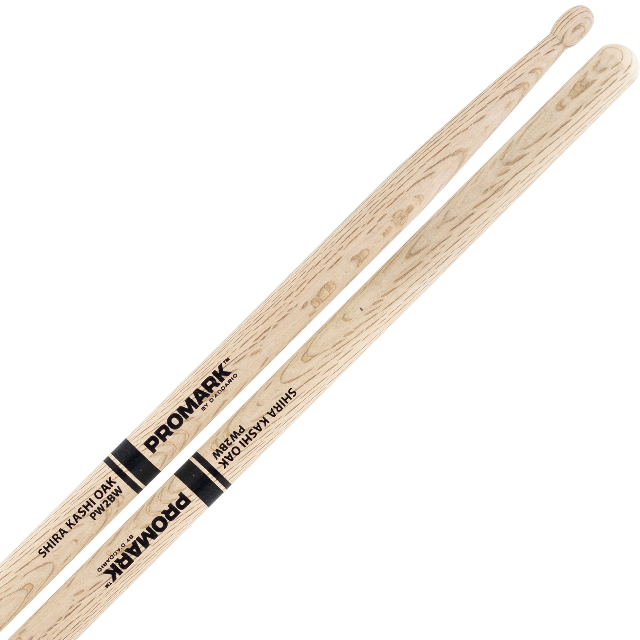 Promark Shira Kashi Oak 2B Wood Tip Drumsticks