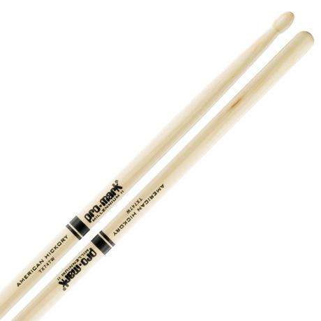 Promark American Hickory 747 Wood Tip Rock Drumsticks