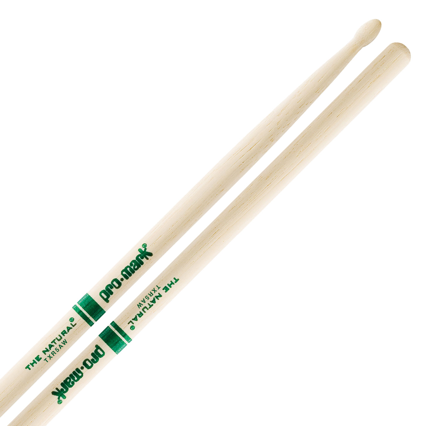 Promark American Hickory 5A Wood Tip Drumsticks