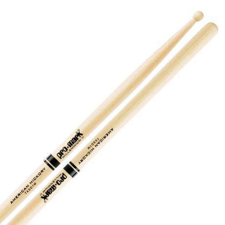 Promark SD1 Hickory Wood Tip Classic Concert Snare Sticks