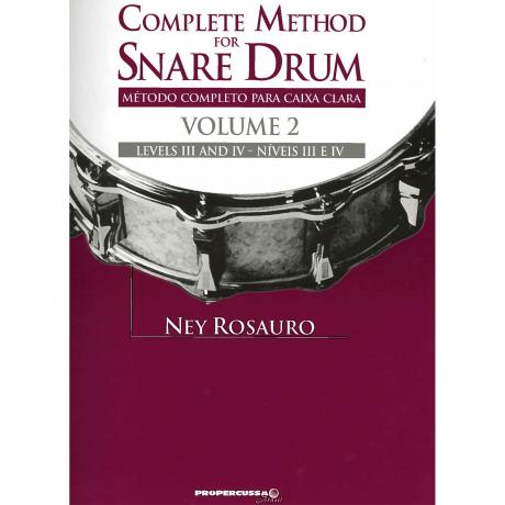 Complete Method for Snare Drum, Vol. 2 by Ney Rosauro
