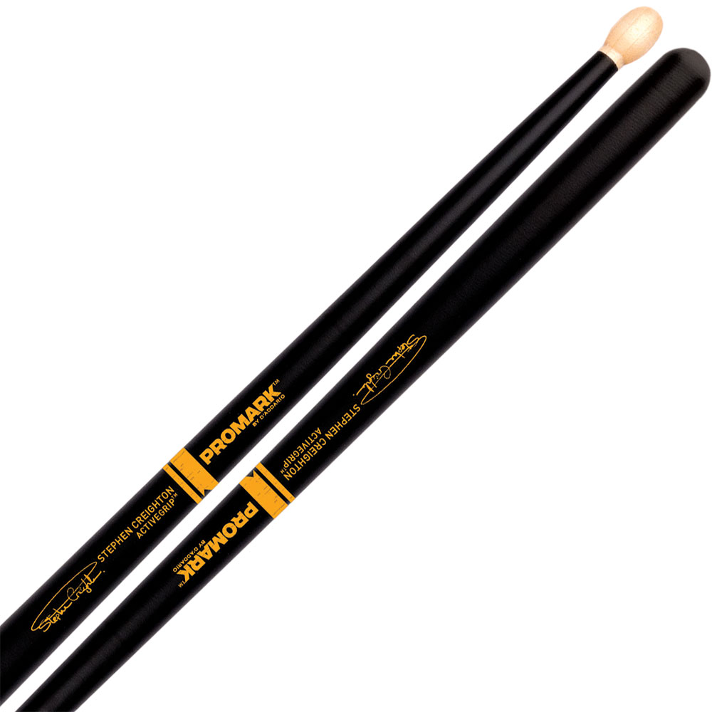 Promark Stephen Creighton Signature ActiveGrip Pipe Band Drumsticks
