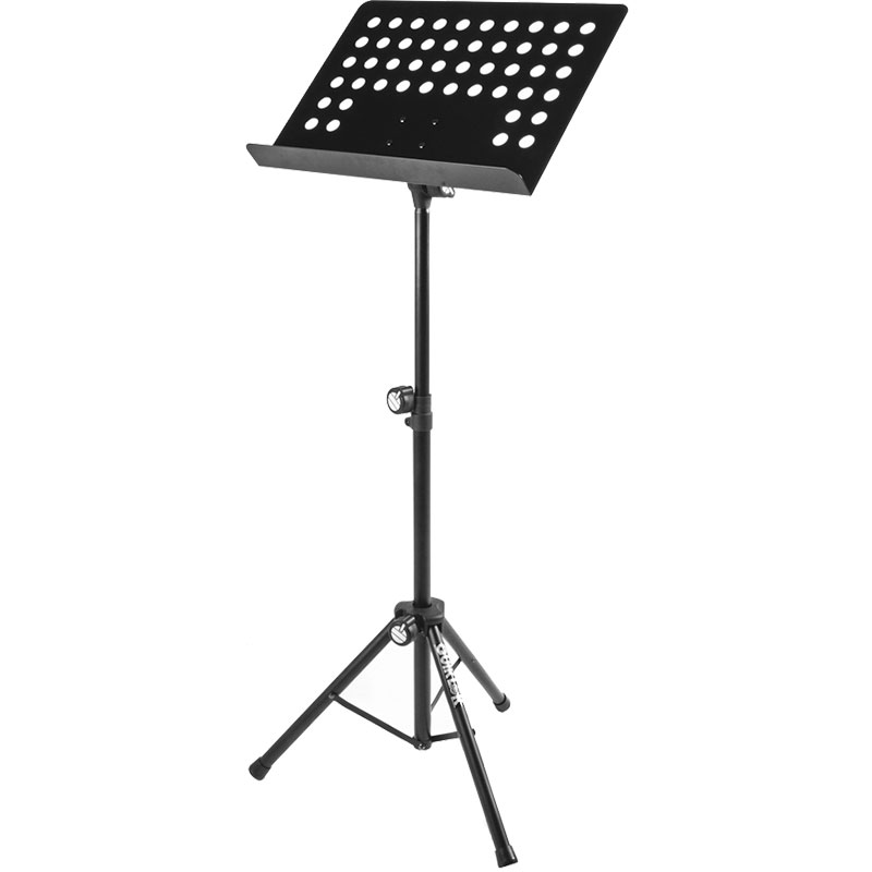 QuikLok Sheet Music Stand with Folding Tripod Base