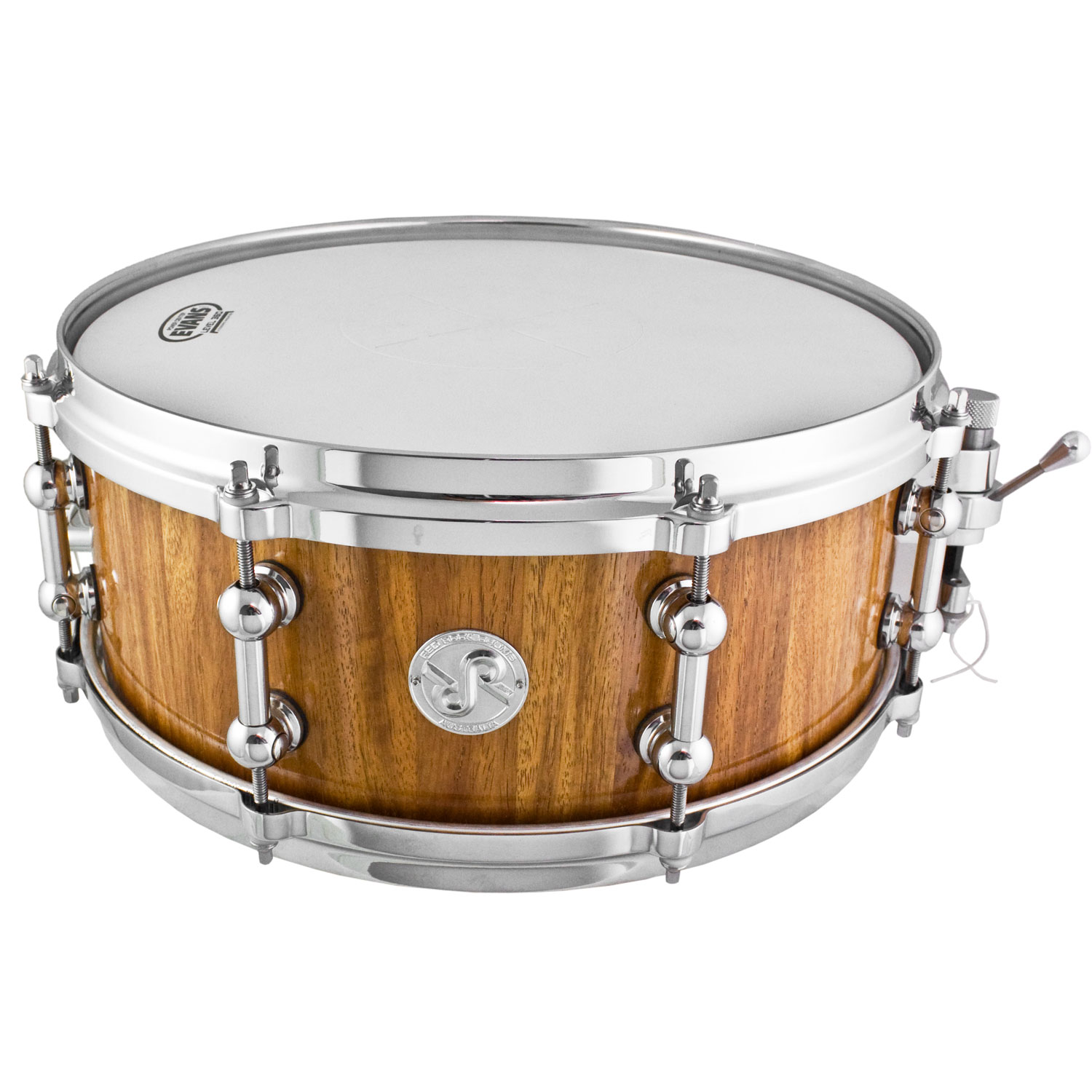 "Red Rock Drums 6"" x 14"" New Guinea Rosewood Snare Drum"