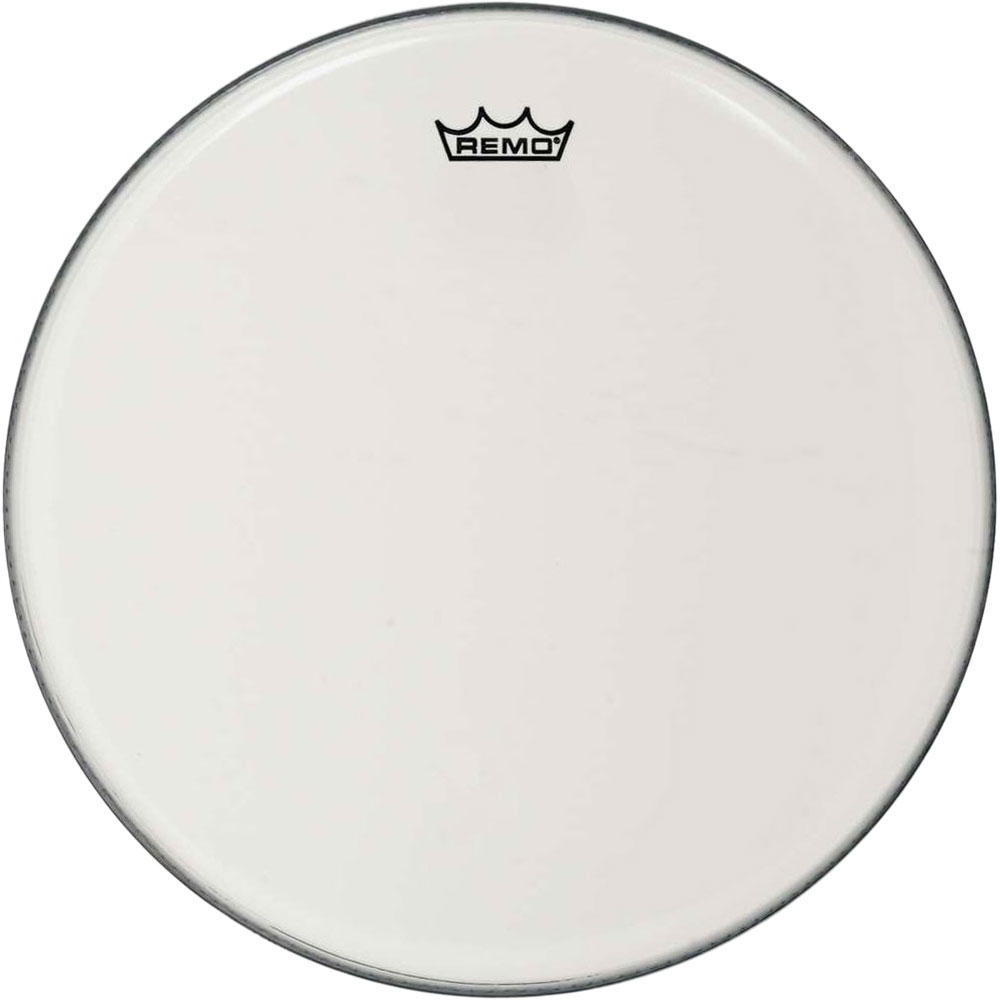 "Remo 16"" Ambassador Smooth White Crimplock Marching Bass Drum Head"