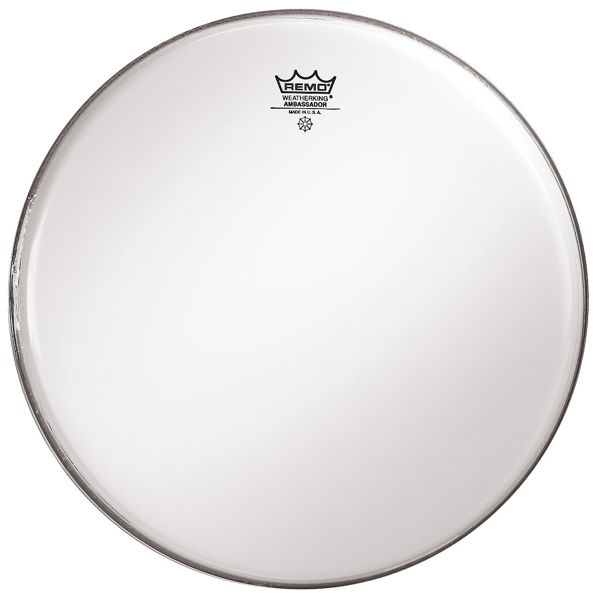 "Remo 12"" Ambassador Smooth White Drum Head"