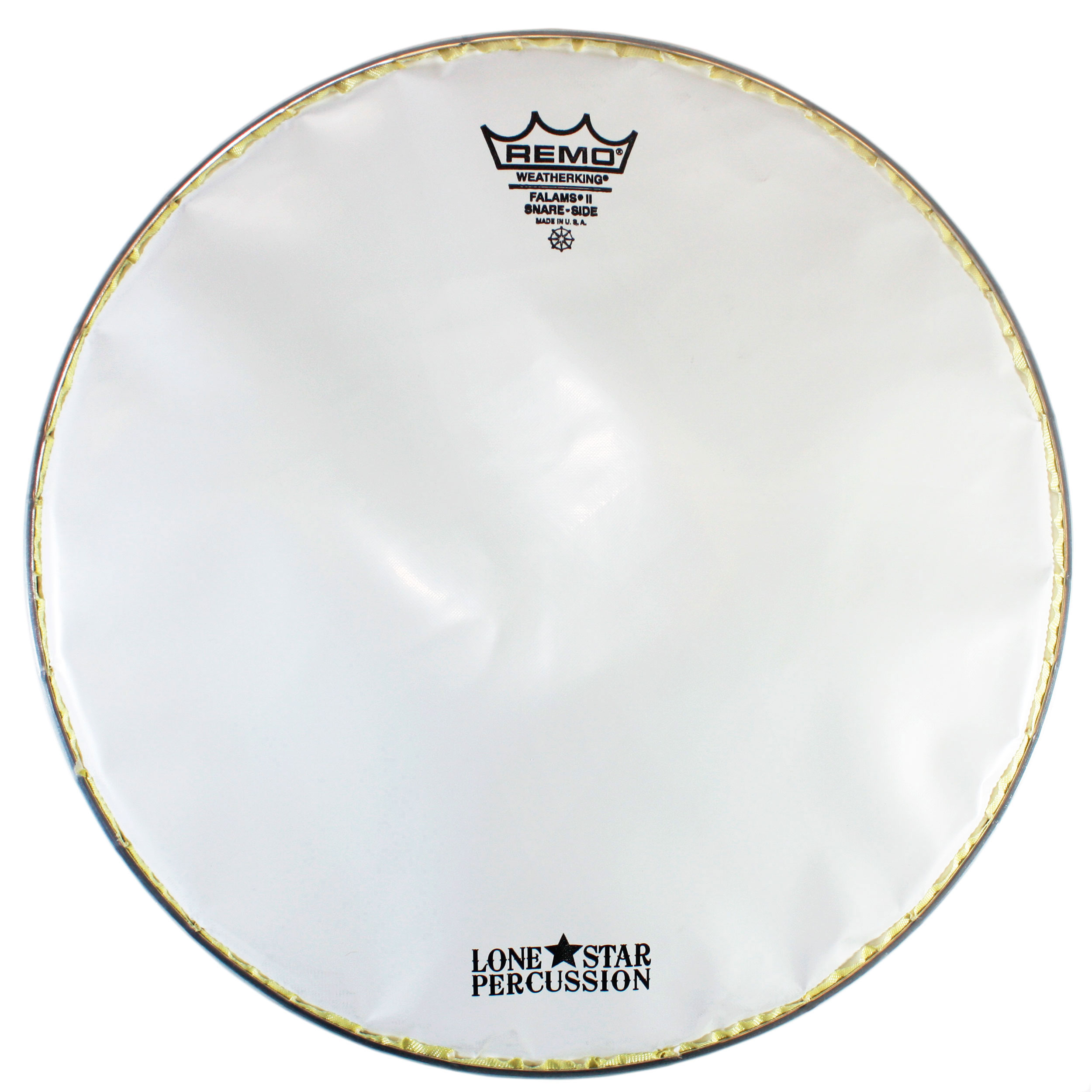 """Remo 14"""" Smooth White Falams Marching Snare Bottom Head"""