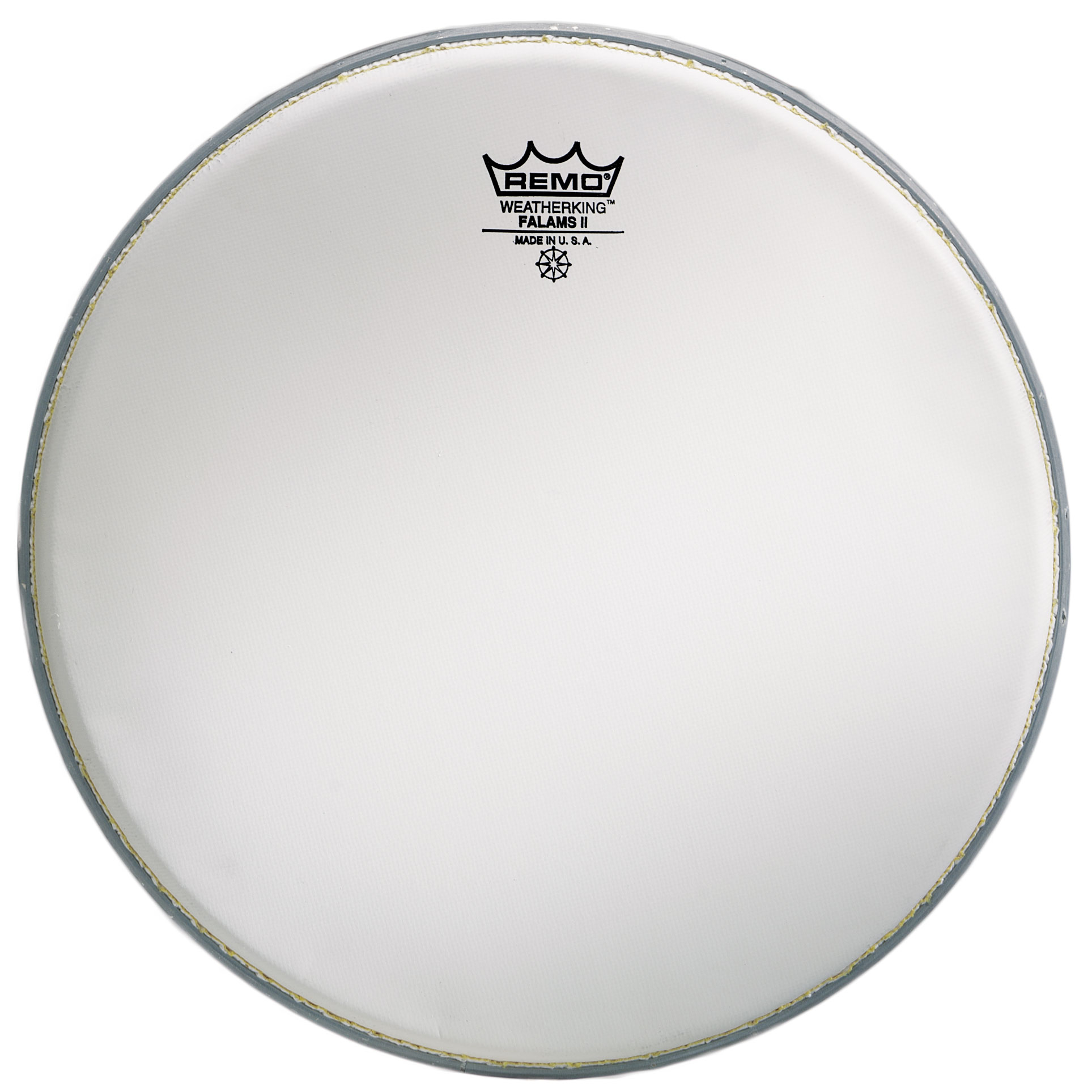"""Remo 13"""" Coated Falams II K Marching Snare Top Head"""