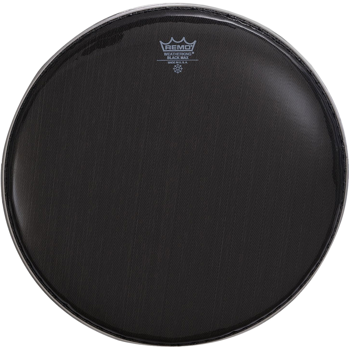 """Remo 14"""" Black Max Marching Snare Drum Top (Batter) Head"""