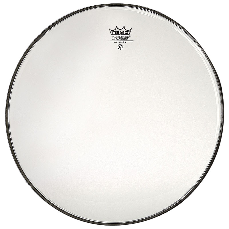 "Remo 13"" Ambassador Clear Snare Side (Bottom) Drum Head"