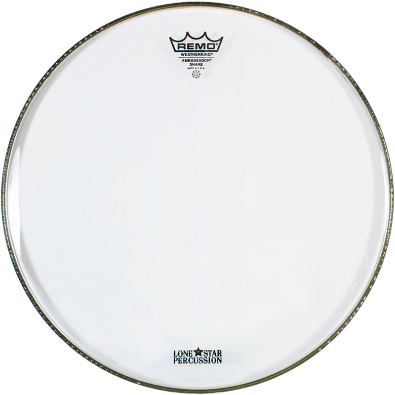 "Remo 14"" Ambassador Clear Snare Side (Bottom) Drum Head"