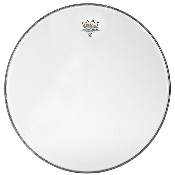 "Remo 14"" Diplomat Hazy Snare Side (Bottom) Drum Head"