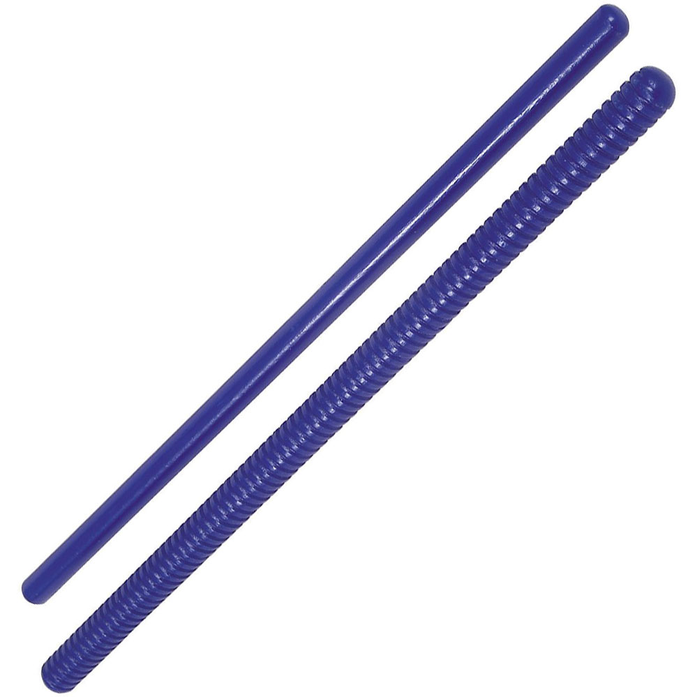 Rhythm Band Plain and Fluted Rhythm Sticks Pair