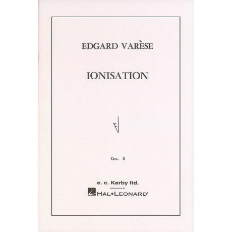 Ionisation (Score Only) by Edgard Varese