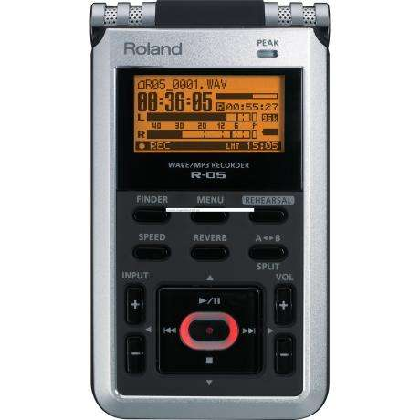 Roland High Resolution WAVE/Mp3 Handheld Recorder