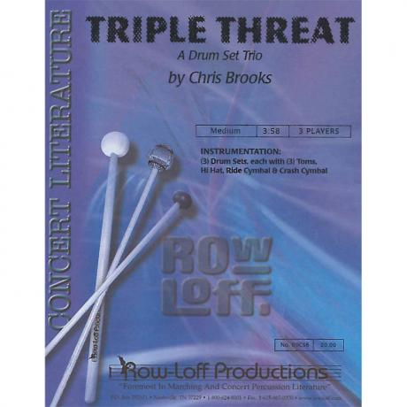 Triple Threat by Chris Brooks