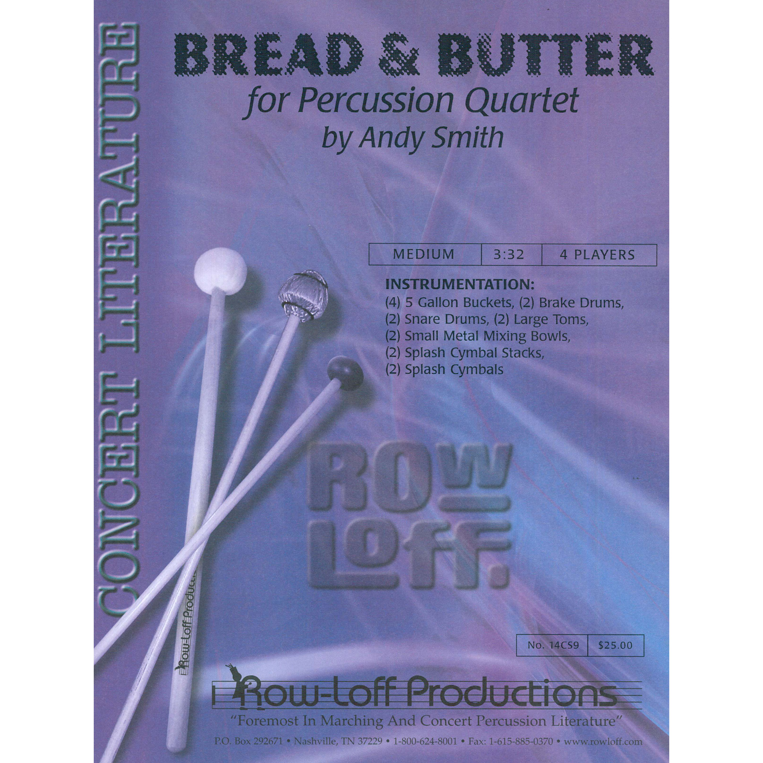 Bread & Butter by Andy Smith