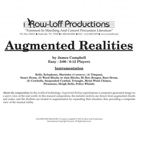 Augmented Realities by James Campbell