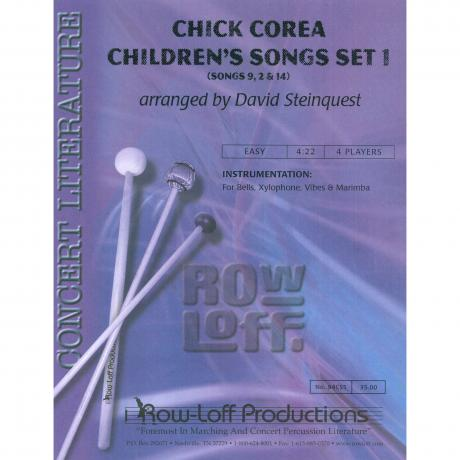Chick Corea Children's Songs 1 by Chick Corea arr. Steinquest
